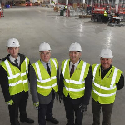 More than £60 million of equipment delivered to UKBIC